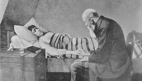 Image result for pastor hospital visit images