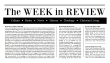 WeekReview(sticky)